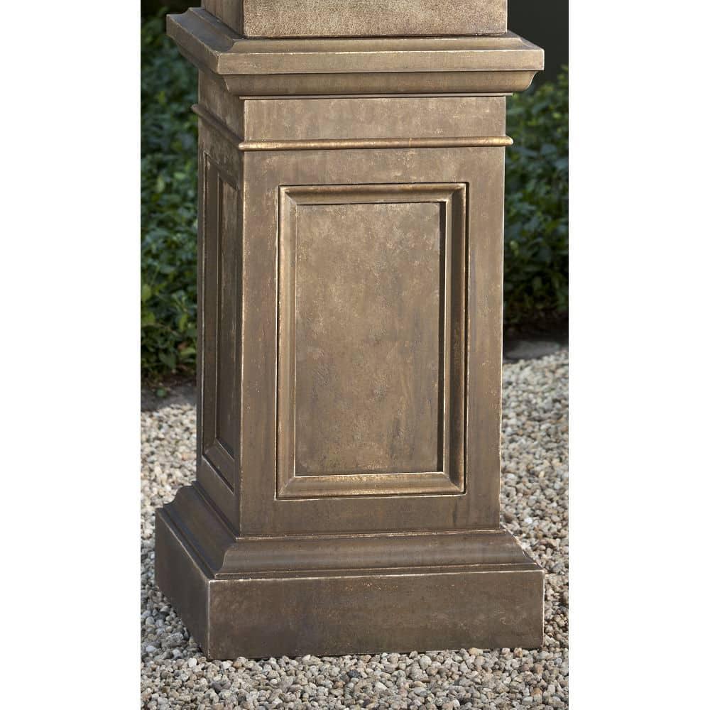 Coachhouse Cast Stone Decorative Outdoor Pedestal