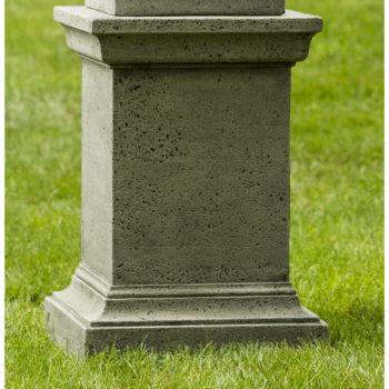 Charmant Greenwich Rustic Cast Stone Outdoor Garden Pedestal