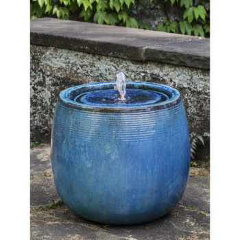 Boden Mediterranean Ceramic Fountain