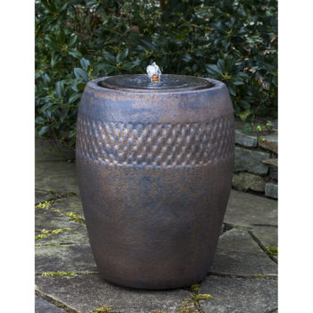 Malmo Tall Bronze Ceramic Fountain
