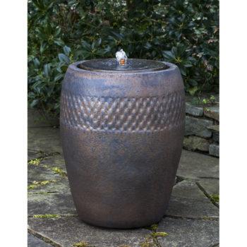 Kinsey Garden Decor Malmo Ceramic Fountain