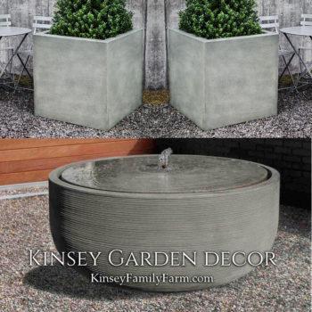 Kinsey Garden Decor Girona fountain gfrc set