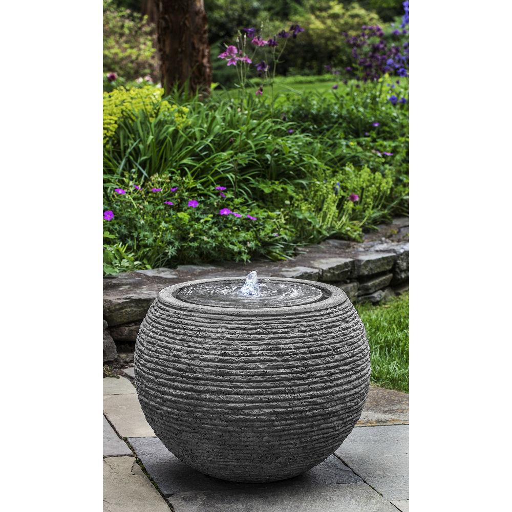 Kinsey Garden Decor Fountain Stone Ledge