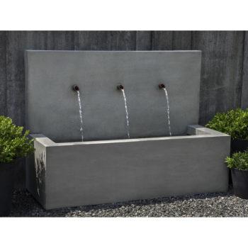 Kinsey Garden Decor Wall Fountain Long Beach