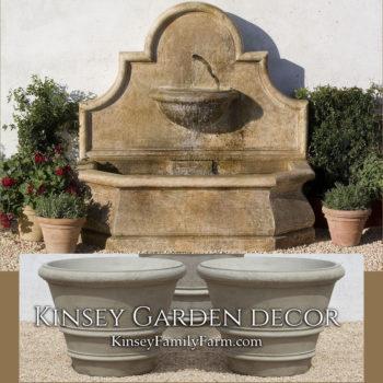 Kinsey Garden Decor Andalusia Fountain set