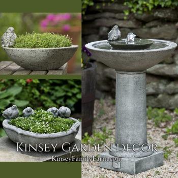 Kinsey Garden Decor Aya Fountain set