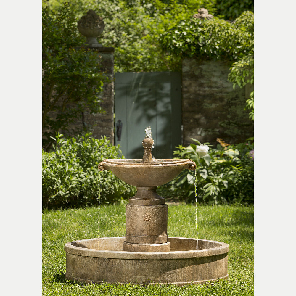 Borghese Basin Outdoor Water Fountain