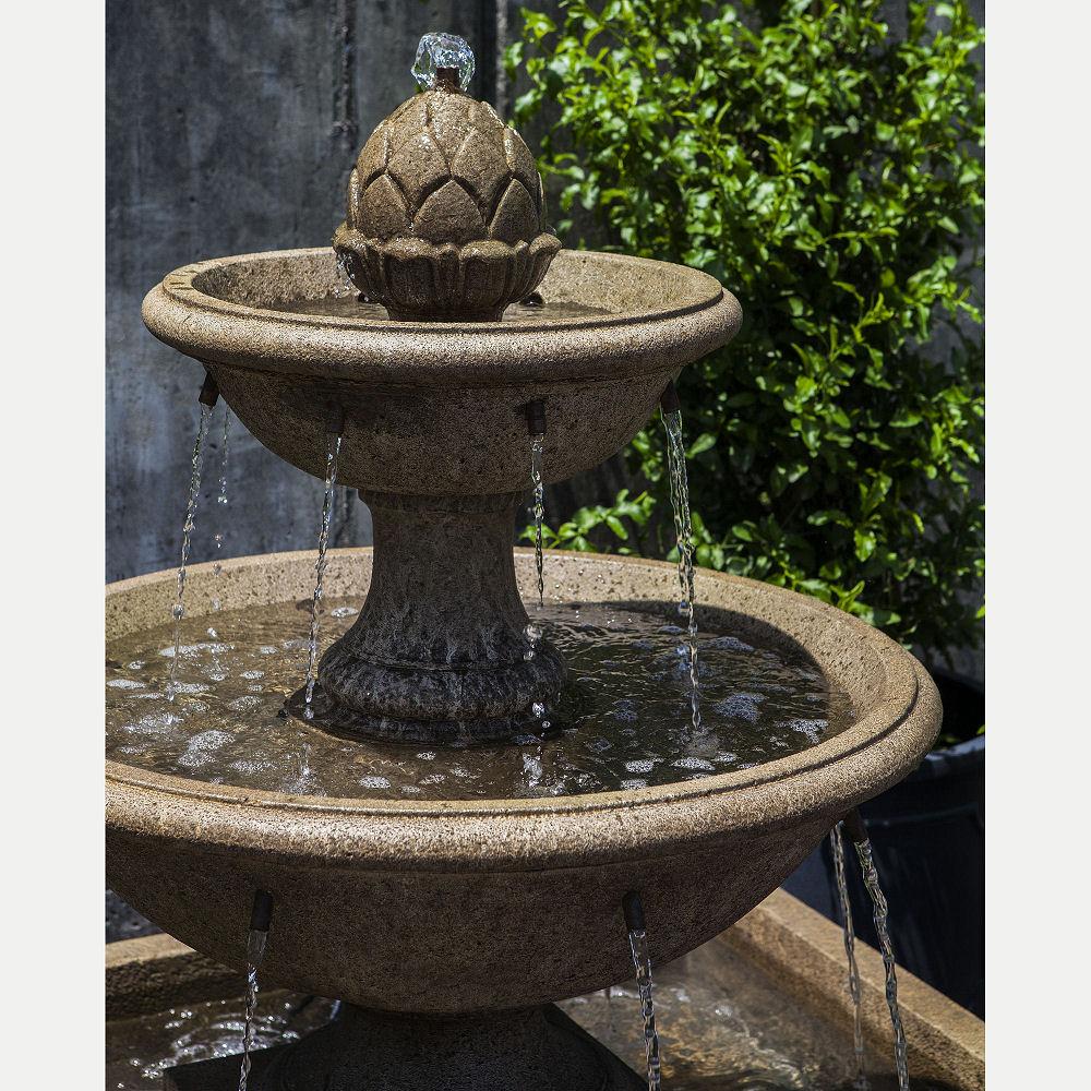 Mirande Square Basin Outdoor Water Fountain | Kinsey ...