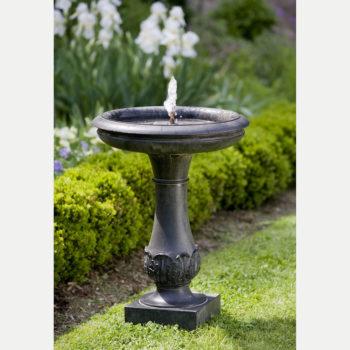 Kinsey Garden Decor Chatsworth Bird Bath Fountain