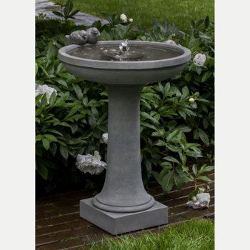 Kinsey Garden Decor Juliet Bird Bath Fountain