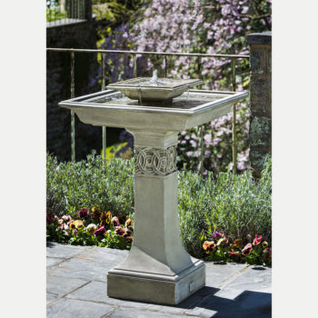 Portwenn Bird Bath Fountain