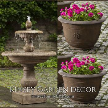 Kinsey Garden Decor Caterina Fountain set
