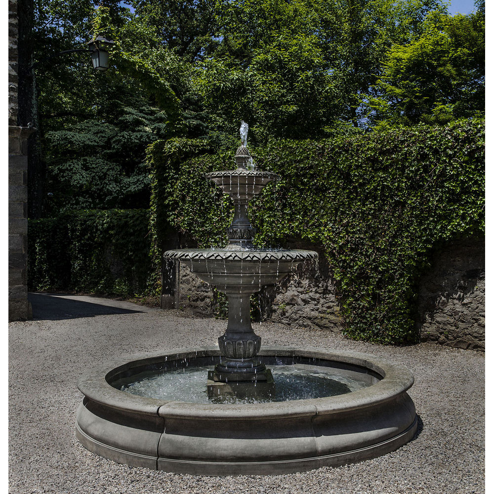 charleston extra large outdoor fountain kinsey garden decor. Black Bedroom Furniture Sets. Home Design Ideas