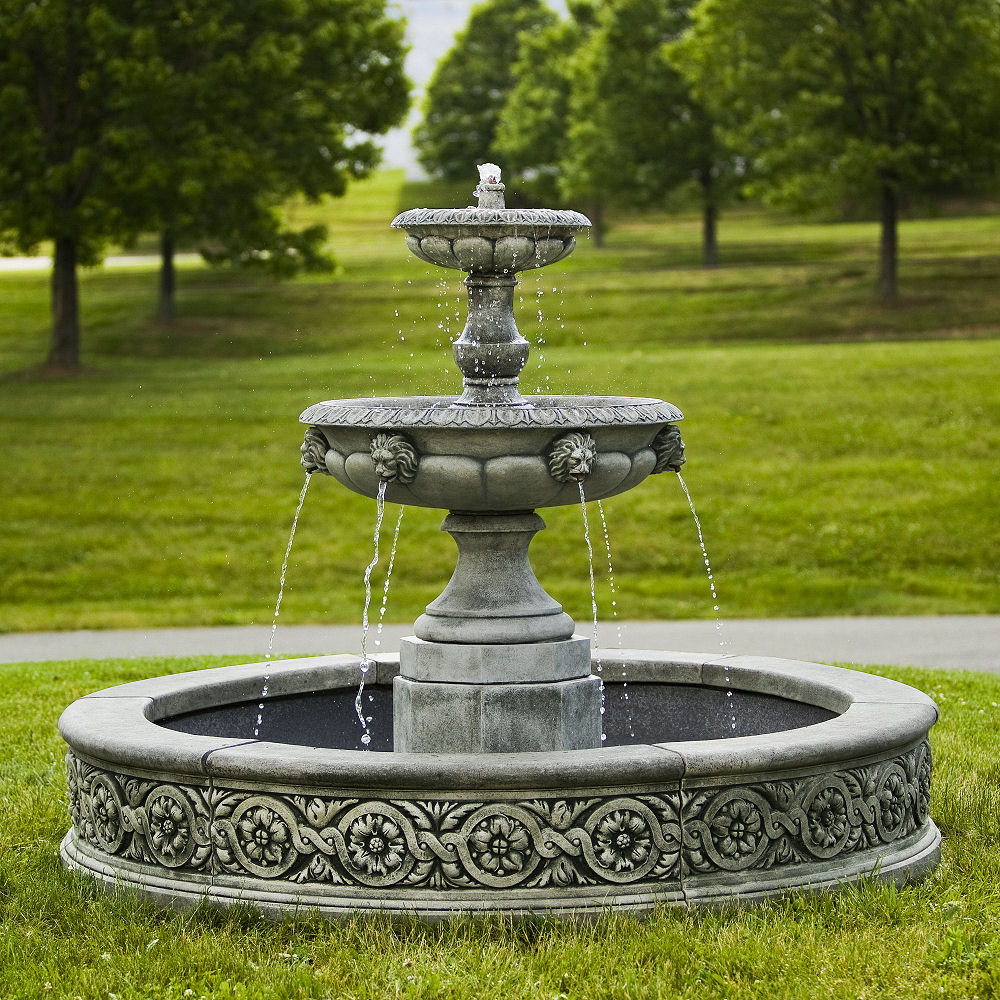 Nice Parisienne Two Tier Estate Fountain Nice Ideas