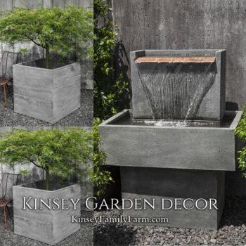 Kinsey Garden Decor Falling Water 1 fountain set