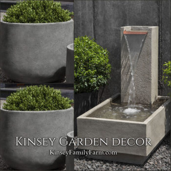 Kinsey Garden Decor Falling Water 4 fountain set