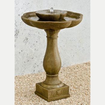 Kinsey Garden Decor Flores Bird Bath Fountain