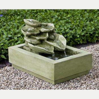 Kinsey Garden Decor Cascading Hosta Water Fountain