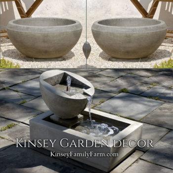 Kinsey Garden Decor Genesis 2 fountain set