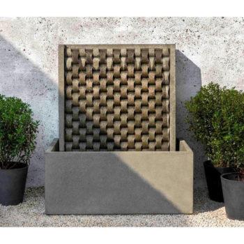 Kinsey Garden Decor Large Weave Fountain