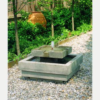 Kinsey Garden Decor Escala Water Fountain