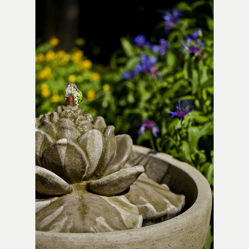 Outdoor smithsonian lotus flower fountain kinsey garden decor kinsey garden decor smithsonian lotus water fountain izmirmasajfo