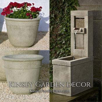 Kinsey Garden Decor Lucas fountain set