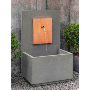 Wall Outdoor Water Fountains For Kinsey Garden Decor 2