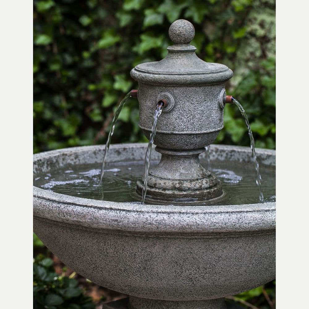 French New Orleans Outdoor Rochefort Water Fountain Kinsey