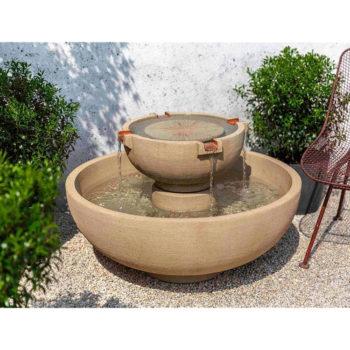 Kinsey Garden Decor Small Del Rey Fountain