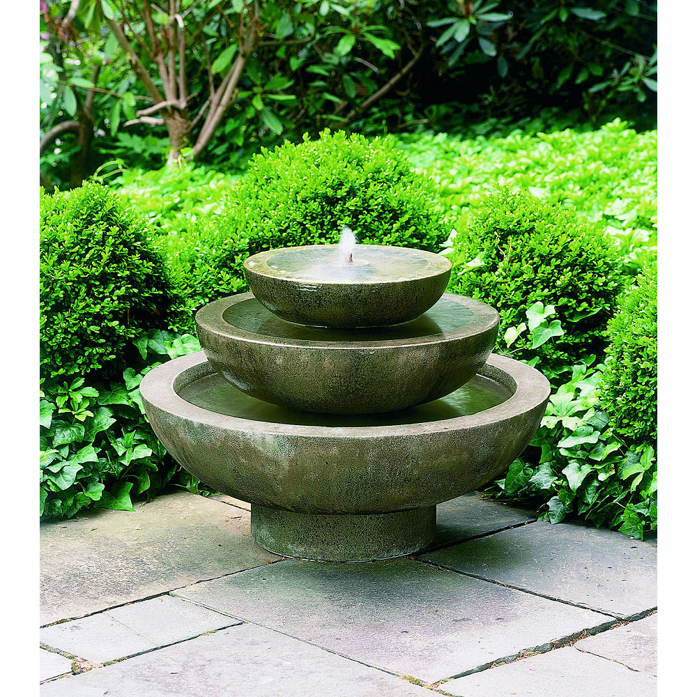 Sunnydaze Birds Delight Outdoor Water Fountain Backyard