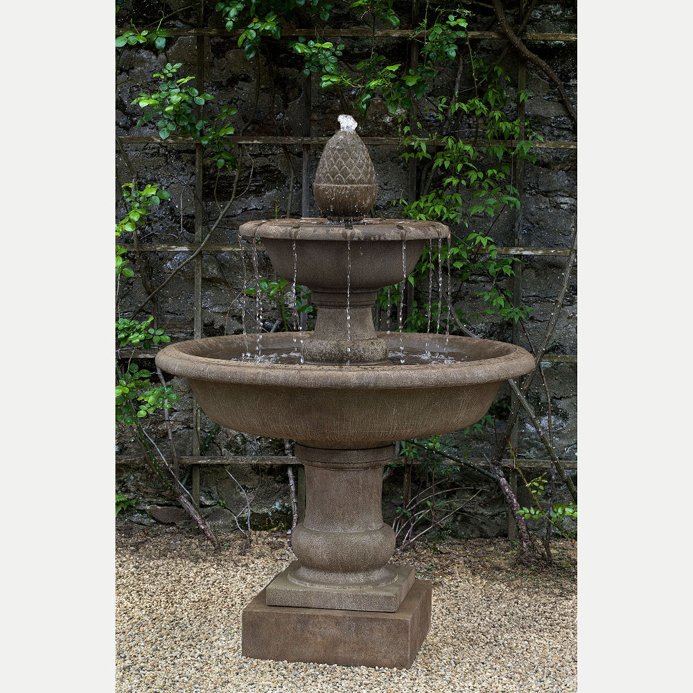 Wiltshire Tier Cast Stone Outdoor Water Fountain