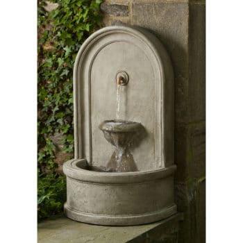 Kinsey Garden Decor Colonna Wall Water Fountain