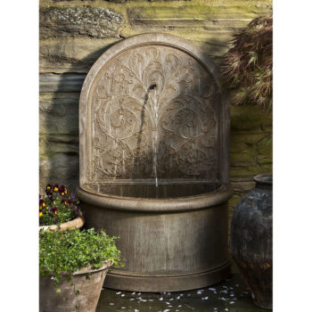 Kinsey Garden Decor Corsini Wall Water Fountain