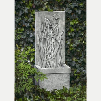 Kinsey Garden Decor Dragonfly Wall Fountain