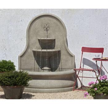 Kinsey Garden Decor Estancia Wall Water Fountain