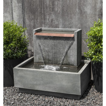 Wall Outdoor Water Fountains Kinsey Garden Decor