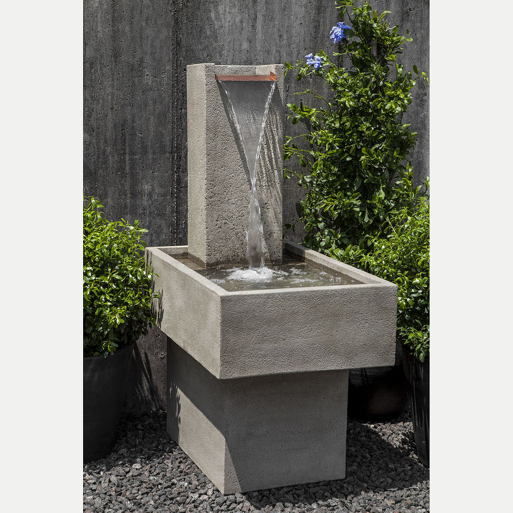 Modern Outdoor Fountain Falling Water Iii Kinsey Garden Decor