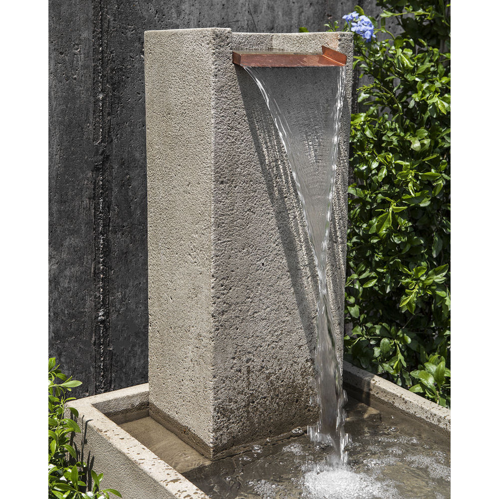 Floor Outdoor Falling Water Iv Fountain Kinsey Garden Decor