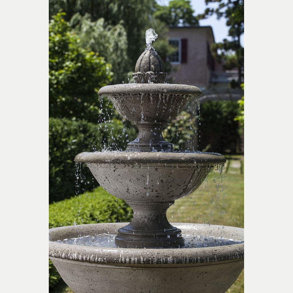 monteros grand large water fountain commercial residential kinsey garden decor