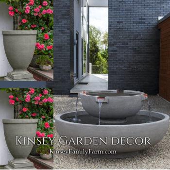 Kinsey Garden Decor del rey fountain capitol set