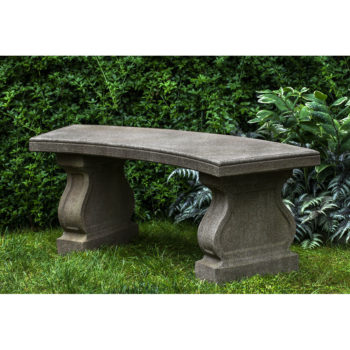 Admirable Cast Stone Garden Benches For Sale Kinsey Garden Decor Gmtry Best Dining Table And Chair Ideas Images Gmtryco