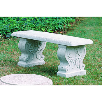 Kinsey Garden Decor Traditional Straight Bench
