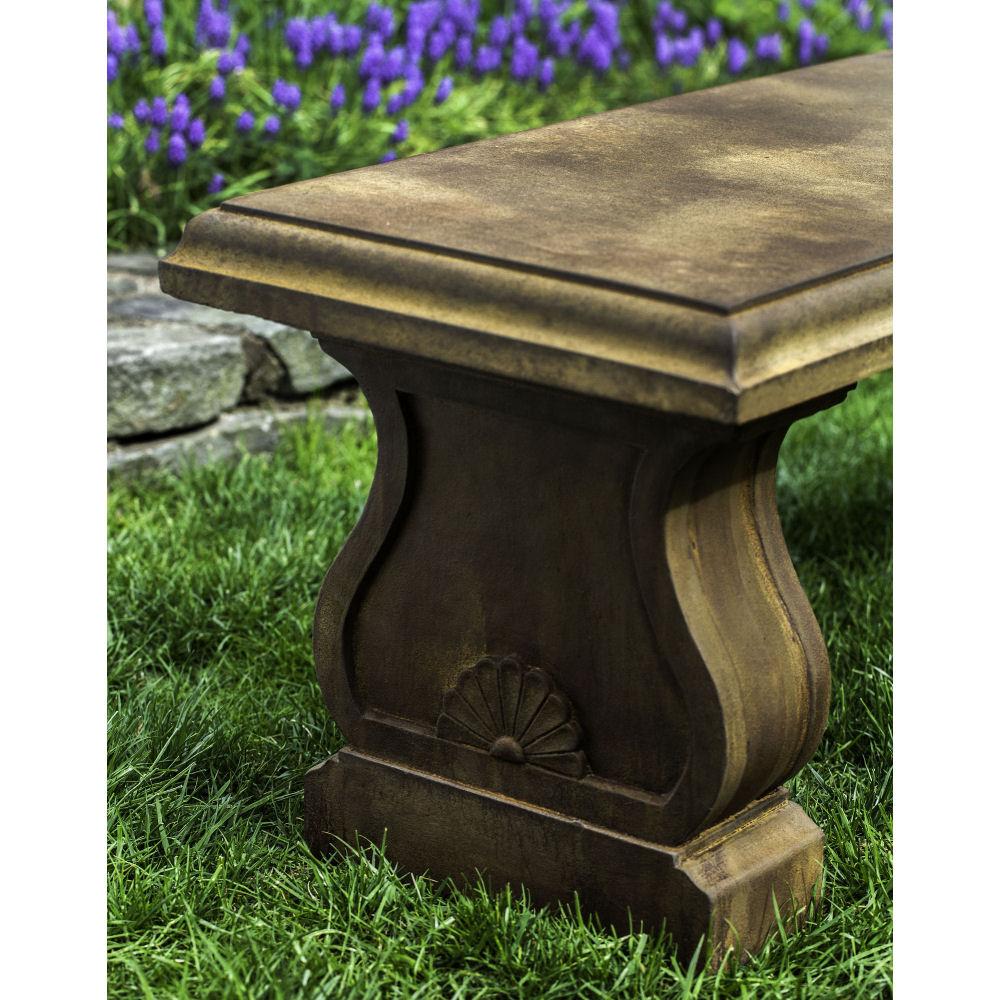 Stone Garden Seats: Westland Traditional Stone Outdoor Bench