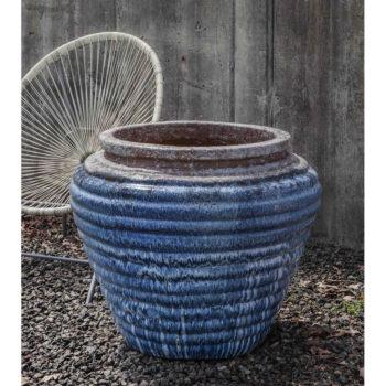 Kinsey Garden Decor ceramic Boca Ceramic Jar