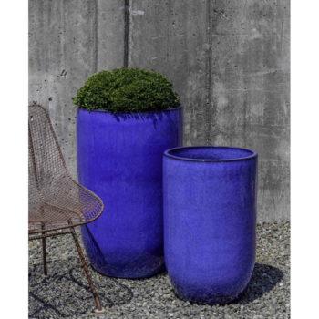 Kinsey Garden Decor Cole Planter Riviera Blue