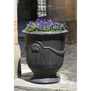 Kinsey Garden Decor ceramic Coquille Anduze Urn