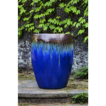 Charmant Kinsey Garden Decor Polaris Planters Blue