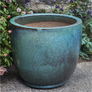 Ceramic Daralis Fountain Weathered Copper | Kinsey Garden Decor