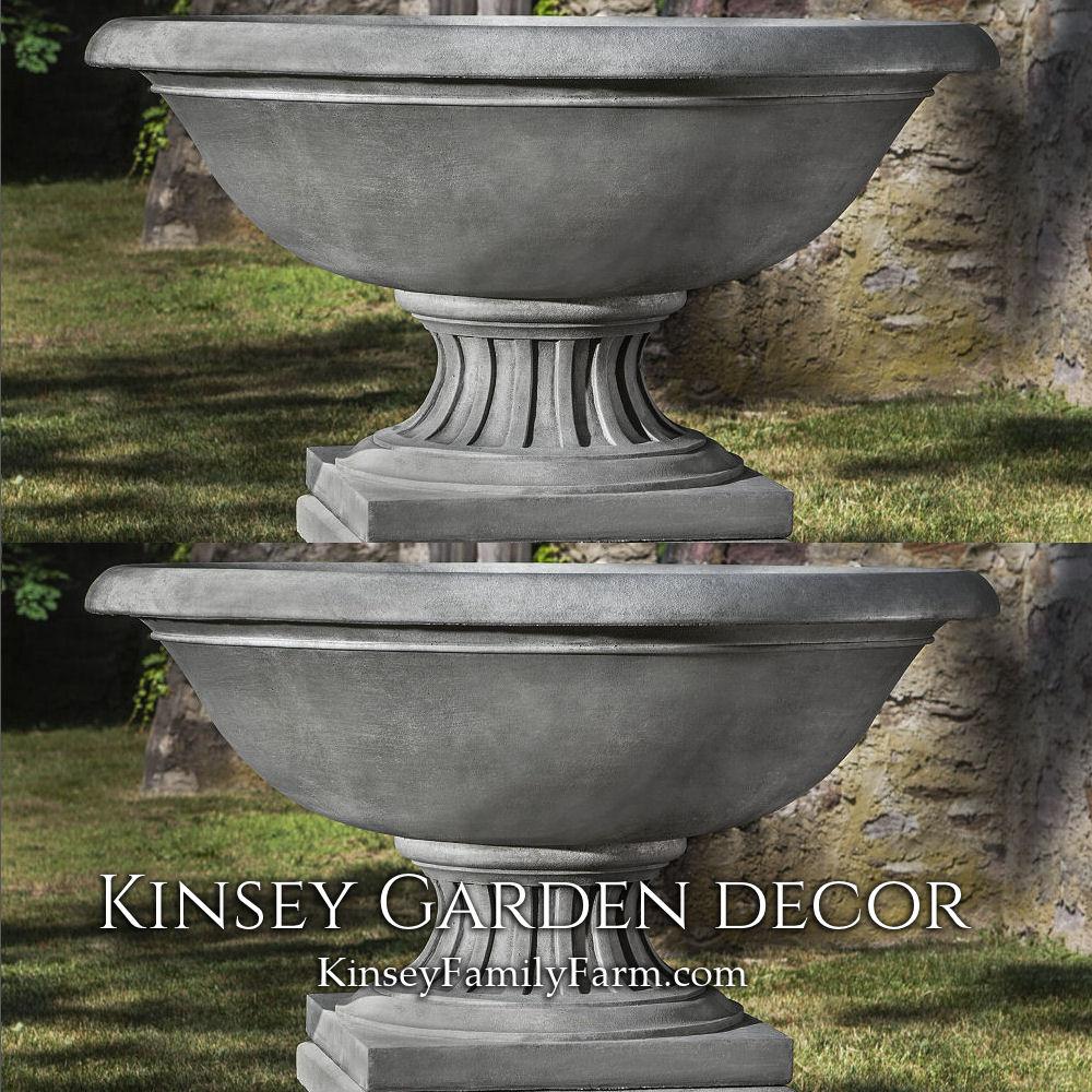 Fonthill Urn Extra Large Wide Bowl Planter Kinsey Garden